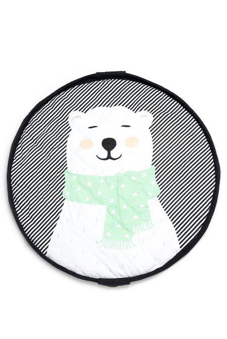 Play&Go Polar Bear Baby Playmat Bag