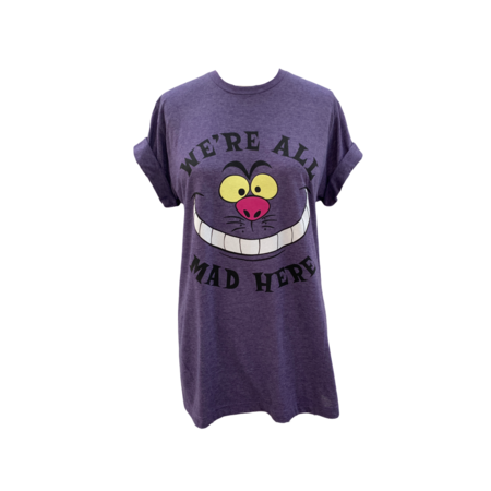 Farm Stand We're All Crazy T-Shirt - purple