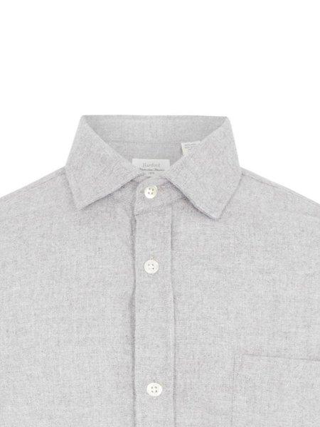 Hartford Paul Flannel Shirt - Light Grey