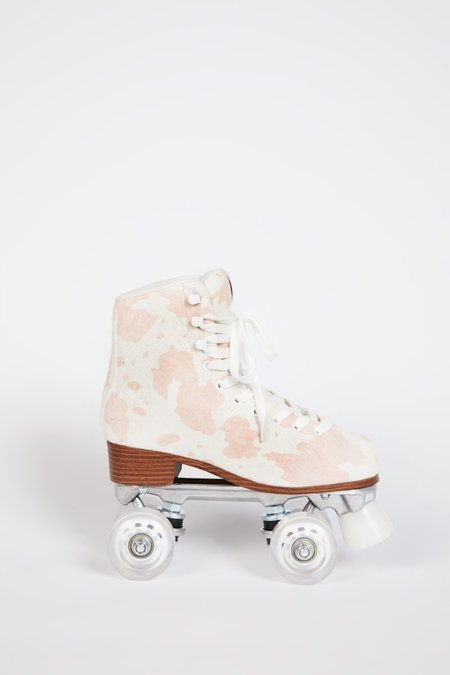 """INTENTIONALLY __________."" WHIP IT SKATE - Baby Pink Moo"