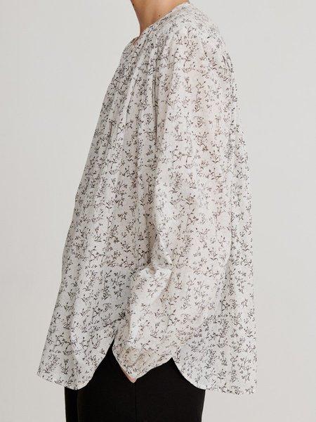 skall studio Shiro Blouse print - White/Grey Print