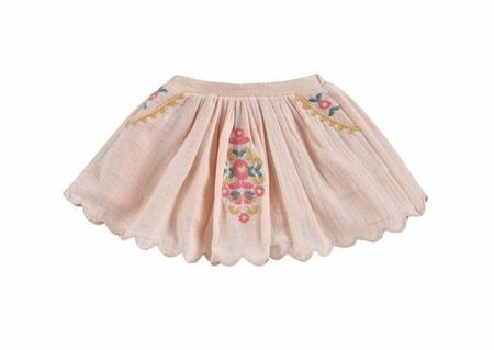 Kids Louise Misha Riola Skirt - Blush
