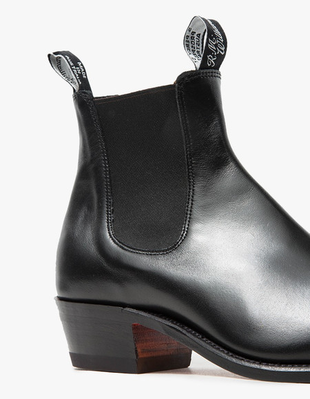 R.M. Williams Leather Yearling Boot - Black