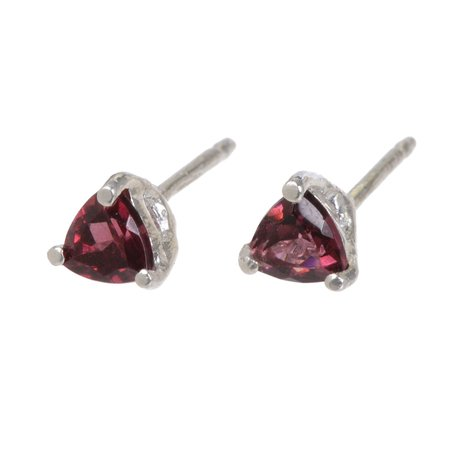 Tarin Thomas Tyler Garnet Earrings