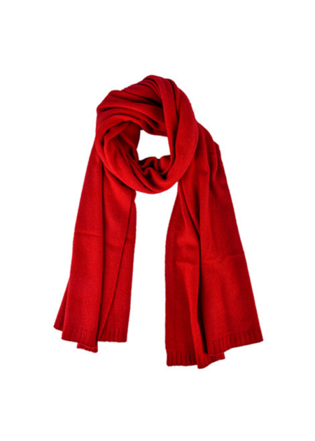 Dona Lim Oversized cashmere scarf - red