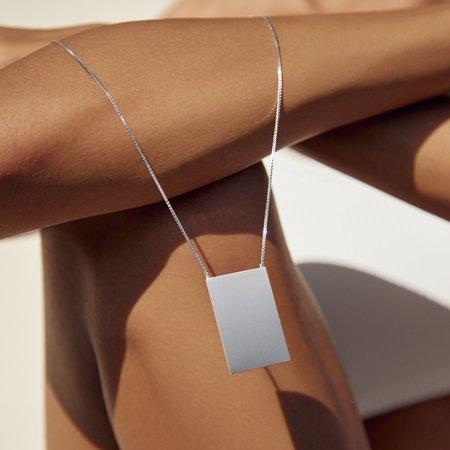 MING YU WANG Passage Pendant - Sterling Silver