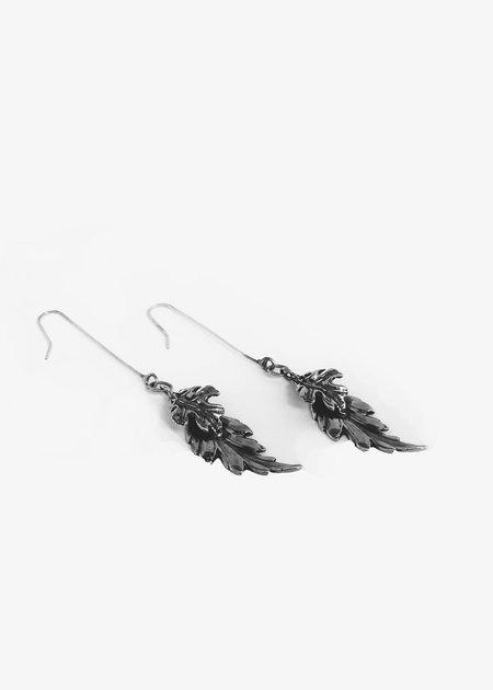 Goti Silver Earrings