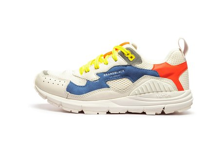 Brandblack Nomo Sneaker - White Blue
