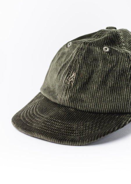 GRAMICCI GREEN CORDUROY CAP