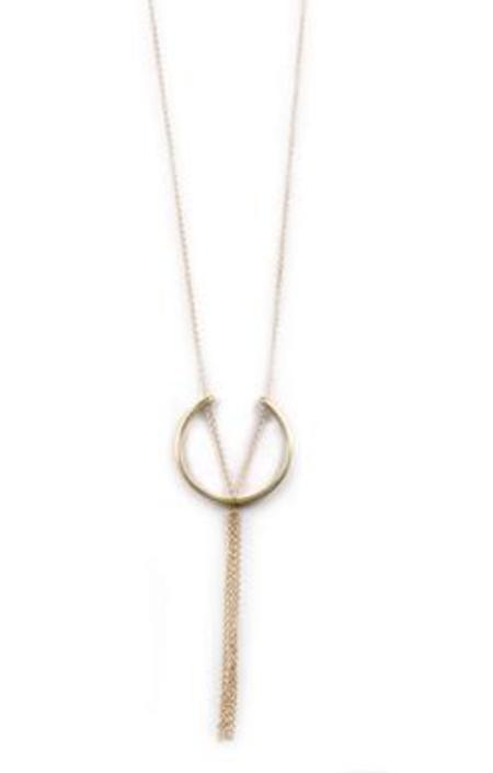 Soko Hewa Pendant Necklace - Gold