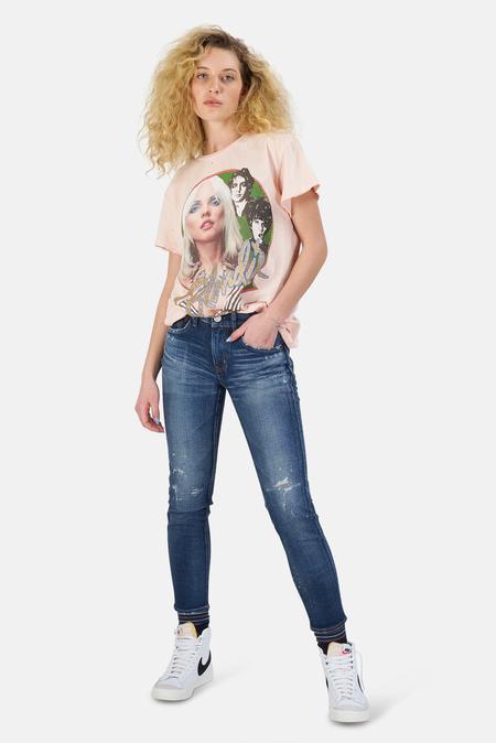 MadeWorn Rock Blondie T-Shirt - Pink