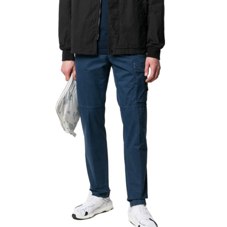 Stone Island Pantalone Slim - Navy