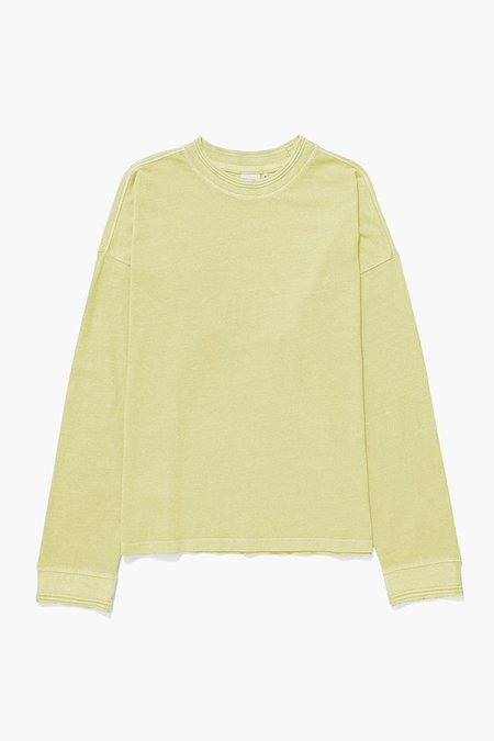Richer Poorer Relaxed Longsleeve Pullover - Pale Green