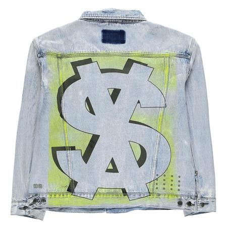 Ksubi Oh G Jacket Stoked Neon - Denim