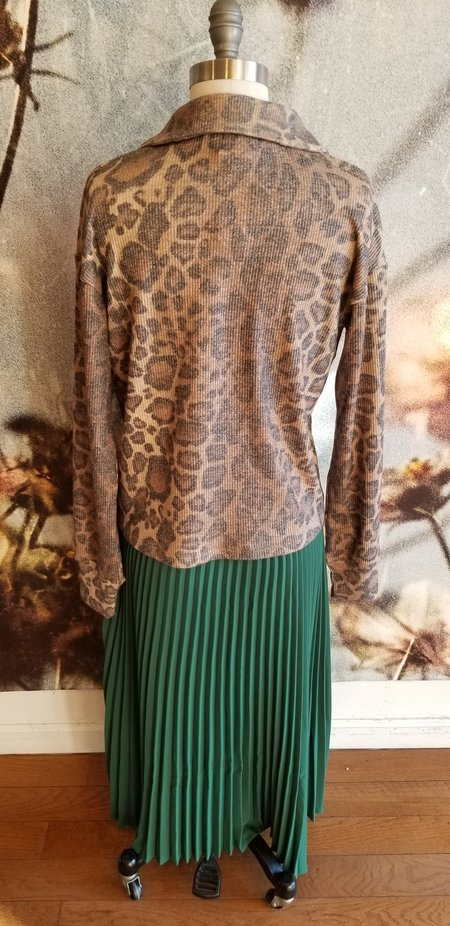LNA Dudley Pullover - Leopard