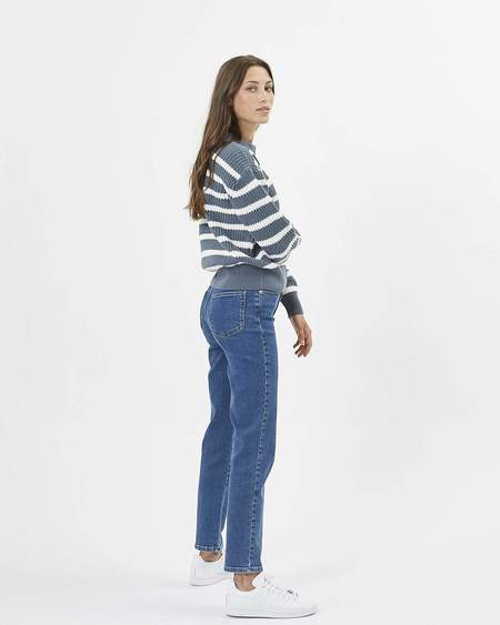 Minimum sweater Mikala - blue