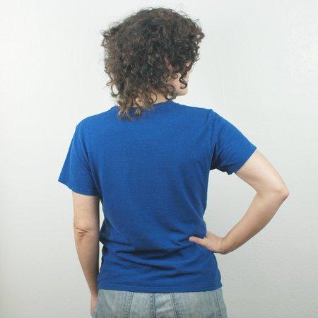 Jungmaven Lorel Crew T Shirt - Cobalt Blue