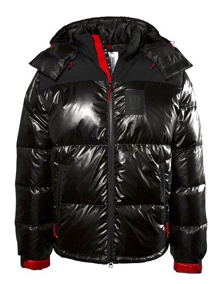 Topo Designs Big Puffer Jacket - Black