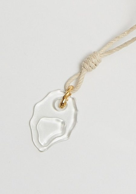 Cled Rope Hemp Necklace - Clear Air