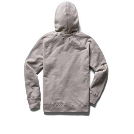 Reigning Champ Knit mid Weight Terry Full Zip Hoodie - Silt