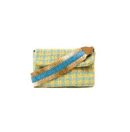 Maria La Rosa Sun Handle Shoulder Bag - Yellow