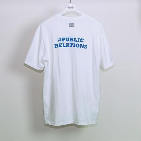 TANGTANG #PR T-Shirt - White