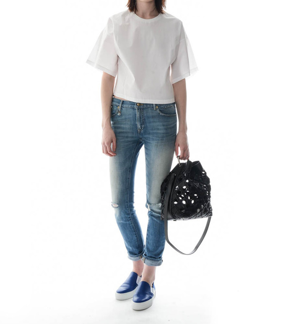 R13 Slouch Skinny Jeans