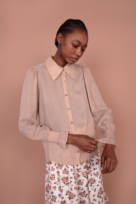 Meadows Mimosa Shirt - Cream
