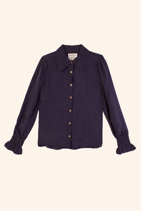Meadows Mimosa Shirt - Navy