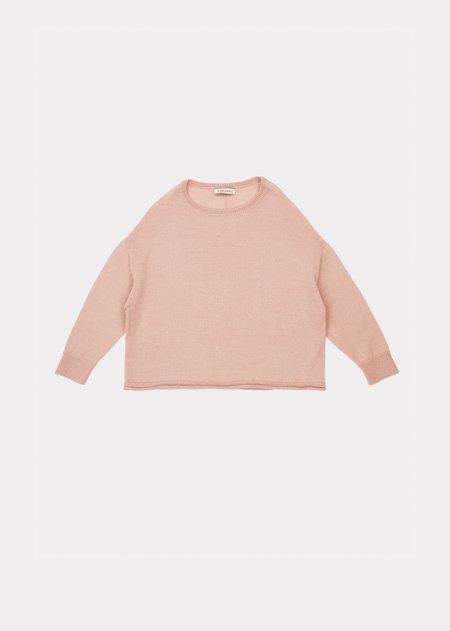 kids Caramel Cuttlefish Jumper sweater - Peony Pink