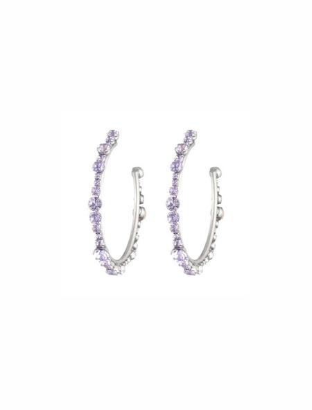 Dannijo Alicia Earrings - Lavender