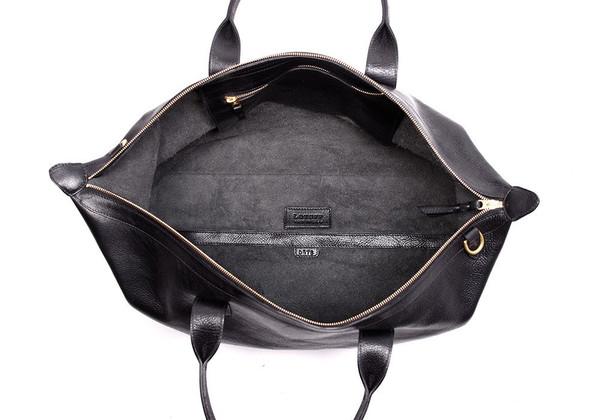 Men's Lotuff Leather Weekender Bag