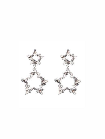 Dannijo Ara Earrings - Silver