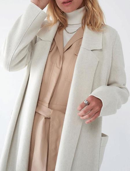 SOSKEN Bella coat - Bone