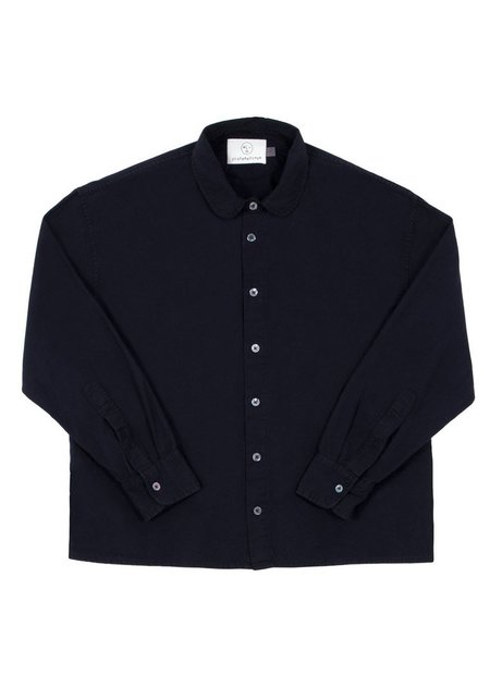 Olderbrother Anti Fit Shirt - Black Indigo