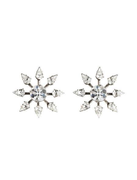 Dannijo Constantina Ear Jackets - Silver