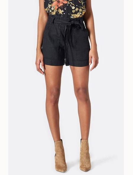 Joie Daynna Linen Shorts - caviar