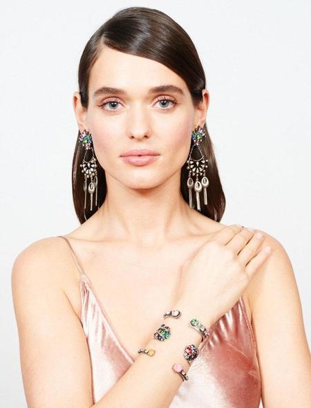 Dannijo Dulani Earrings - Silver