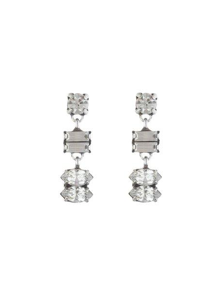 Dannijo Ellie Earrings - silver-plated brass