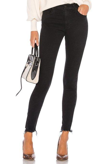 AG Jeans Farrah Skinny Ankle - Altered Black