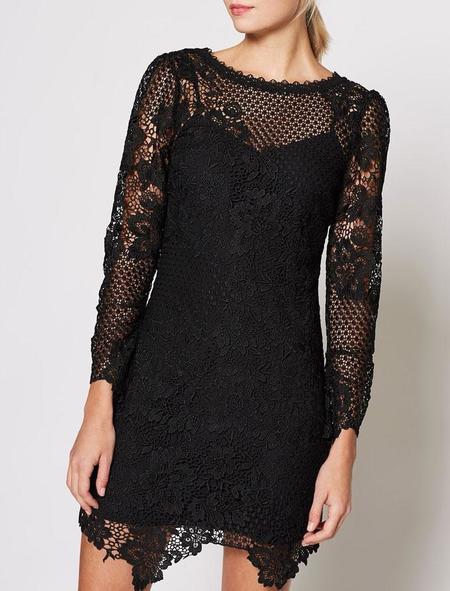 Joie Hemera Dress - Caviar
