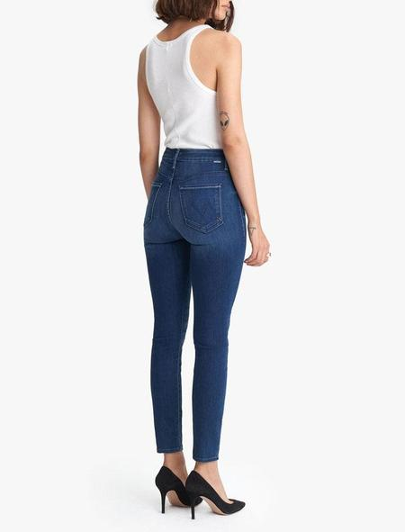Mother Denim High Waisted Looker Ankle - Road To Paradise