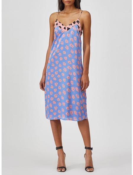 Equipment Jules Silk Slip Dress - Sahara Sky Apricot Rose