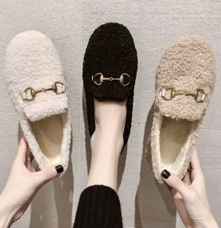 Klassified Slippers - Ivory