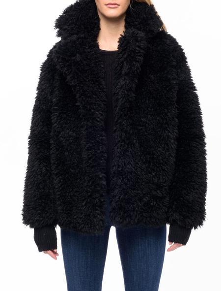 Line Knitwear Krista Coat - caviar