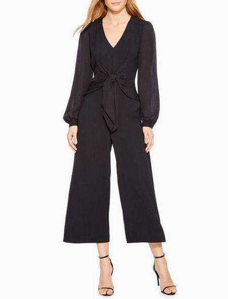 Parker NY Monaco Jumpsuit - black