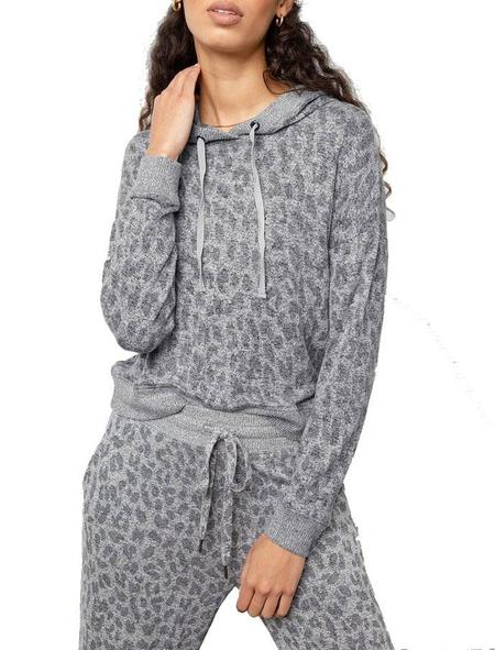 Rails Murray Sweatshirt - Melange Grey Leopard