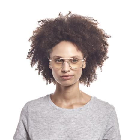 MERAKI BOUTIQUE The Book Club: SAME CHAIR eyewear - WHITE GOLD