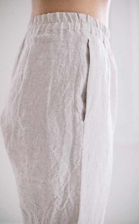 Petria Lenehan Sligo Pants - washed Irish linen