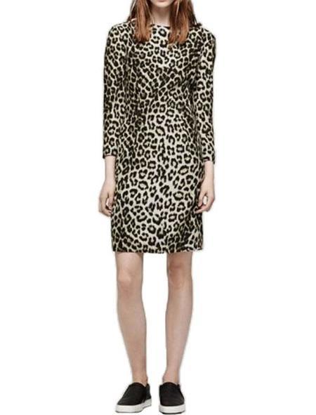 Rag & Bone Short Dress - Leopard